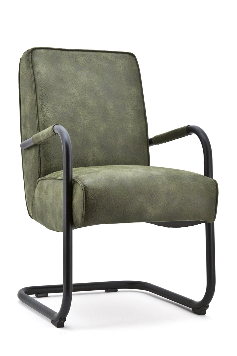 Dark Olive Green Armchair | Eleonora Elburg | dutchfurniture.com