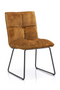 Amber Upholstered Dining Chair | Eleonora Ruby | dutchfurniture.com
