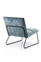 Teal Upholstered Lounge Chair | Eleonora Ruby | dutchfurniture.com