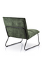 Olive Green Lounge Chair | Eleonora Ruby | dutchfurniture.com