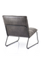 Dark Gray Lounge Chair | Eleonora Ruby | dutchfurniture.com