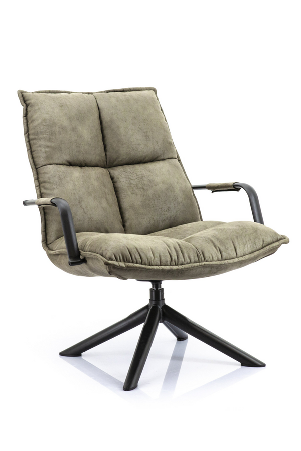 Olive Green Lounge Chair | Eleonora Mitchell | dutchfurniture.com