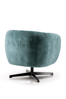 Teal Upholstered Lounge Chair | Eleonora Jaimey | dutchfurniture.com