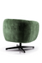 Olive Green Barrel Chair | Eleonora Jaimey | dutchfurniture.com
