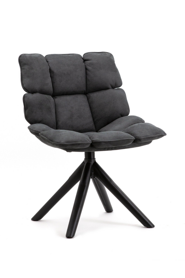 Dark Grey Swivel Chair | Eleonora Daan | dutchfurniture.com