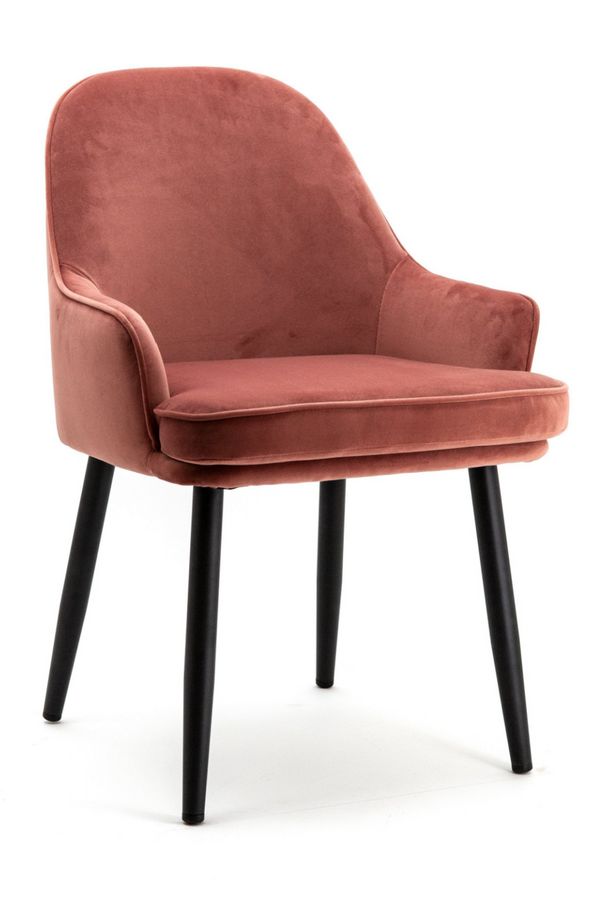 Fuchsia Velvet Dining Chair | Eleonora Barbara | dutchfurniture.com