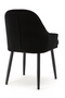 Black Velvet Dining Chair | Eleonora Barbara | dutchfurniture.com