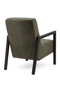 Olive Green Leather Armchair | Eleonora Lars | dutchfurniture.com