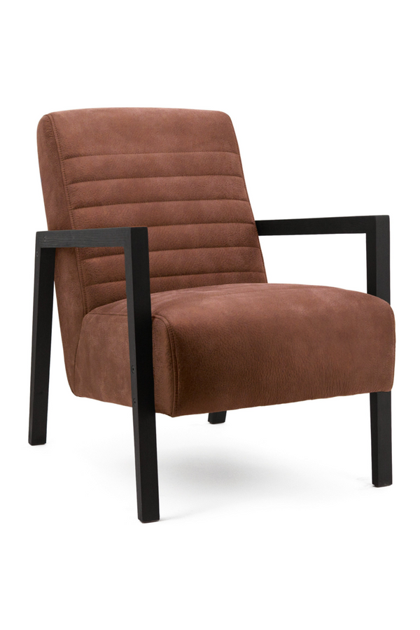 Cognac Leather Armchair | Eleonora Lars | Dutchfurniture.com