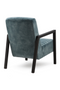 Teal Leather Armchair | Eleonora Lars | dutchfurniture.com