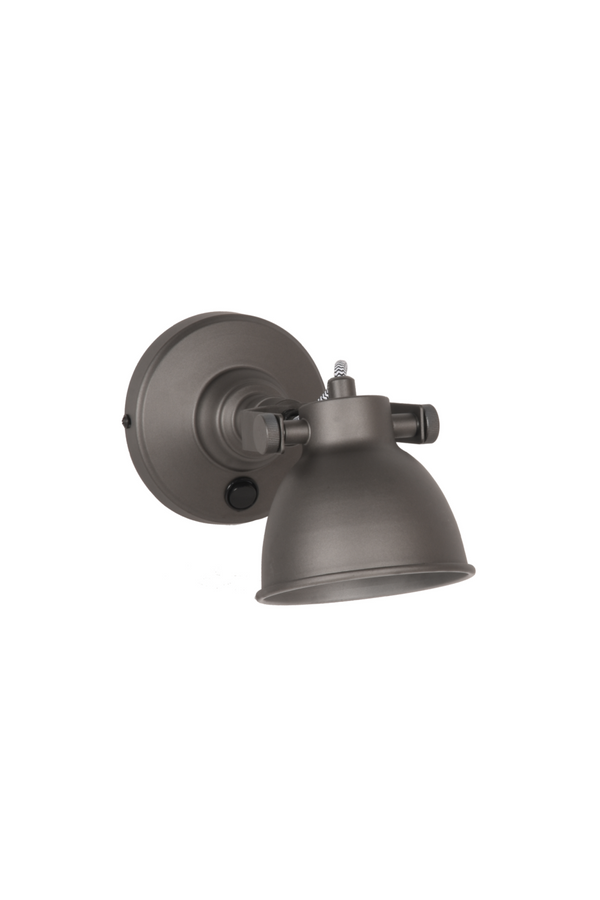 Gray Wall Sconce M | LABEL51 Bow  | DutchFurniture.com
