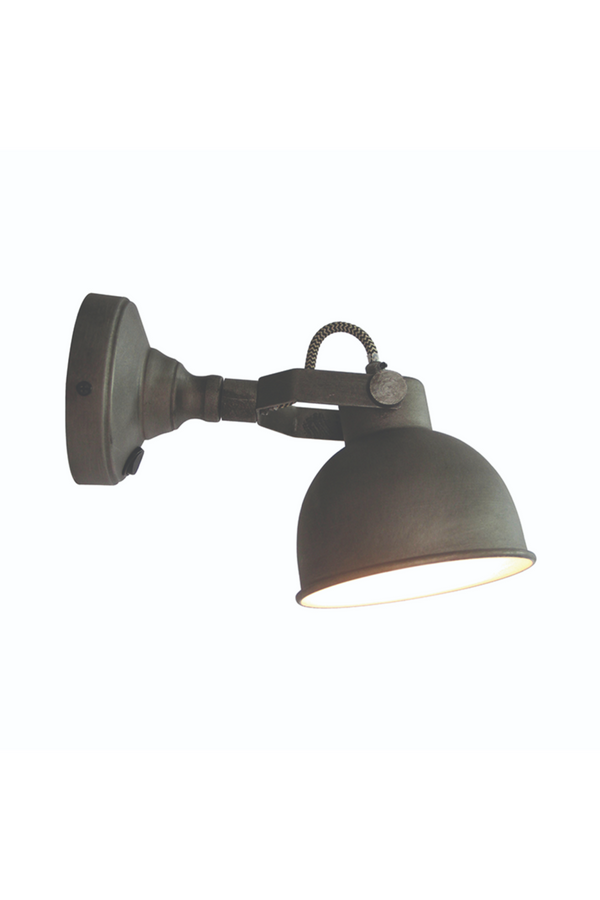 Gray Wall Sconce L | LABEL51 Bow  | DutchFurniture.com