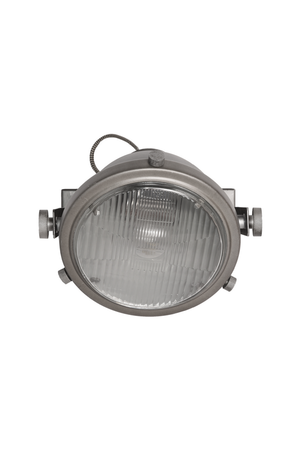 Gray Metal Wall Sconce | LABEL51 Tuk-Tuk | DutchFurniture.com