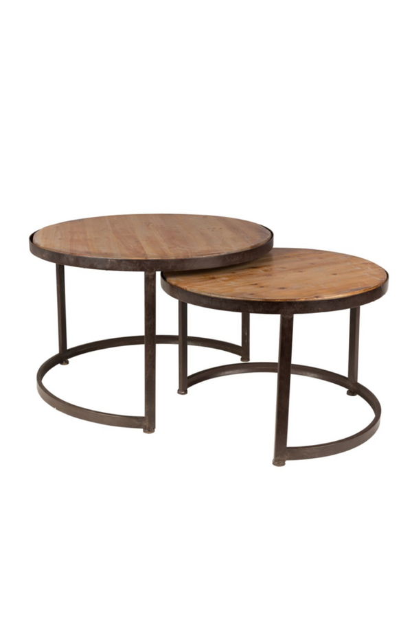 Round Nesting Coffee Table | DF Jack | DutchFurniture.com