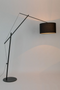 Black Adjustable Task Floor Lamp | DF Tokio | DutchFurniture.com
