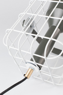 White Wired Table Lamp | DF Cage | DutchFurniture.com