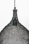 Black Iron Mesh Pendant Lamp M | DF Lena | DutchFurniture.com