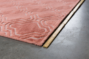 Pink Pattern Area Rug 5' x 7'5"