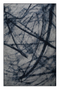 "Blue Contemporary Area Rug 6'5"" x 10' 