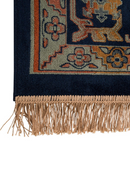 "Green Fringe Area Rug 6'5"" x 10' 