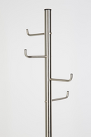 Silver Free Standing Coat Rack | DF Hooked | Dutchfurniture.com