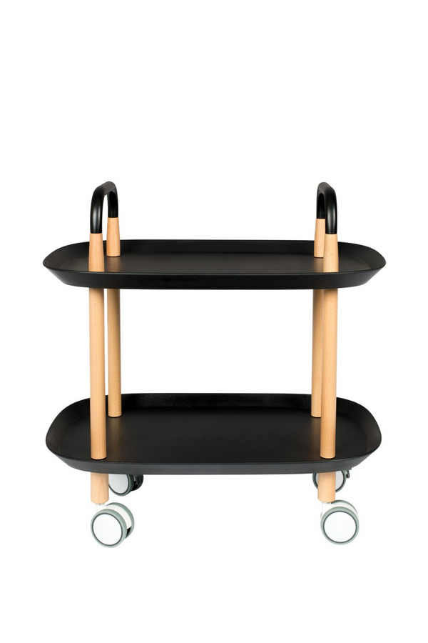 Black Wheeled Trolley | DF Cruiser | DutchFurniture.com