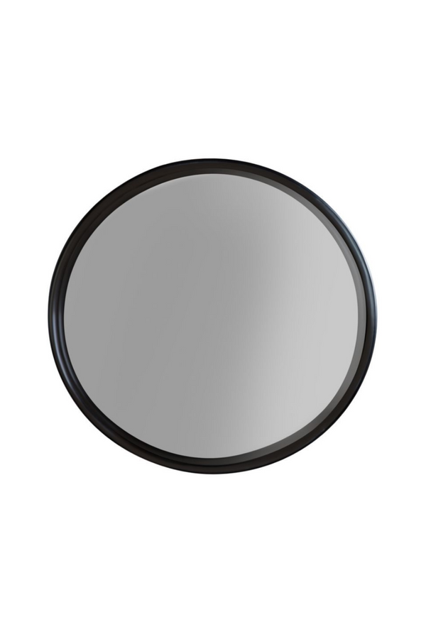 Black Round Mirror - M | DF Raj | DutchFurniture.com