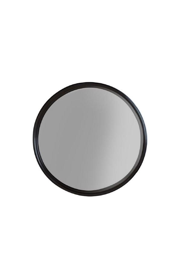Black Round Mirror - S | DF Raj | DutchFurniture.com