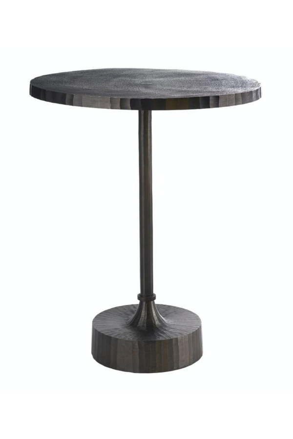 Round Gray Side Table | Pols Potten Mace | DutchFurniture.com