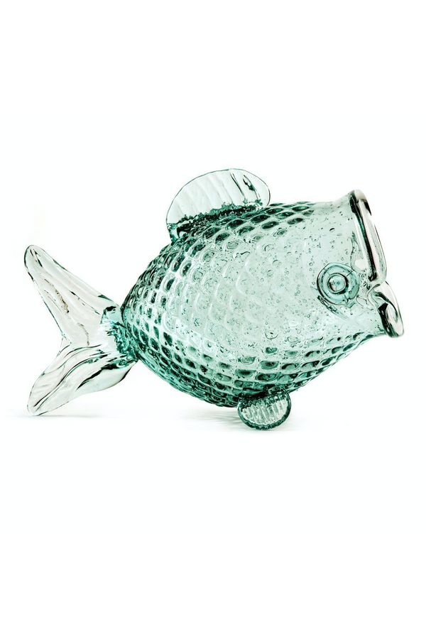 Recycled Glass Fish Jars M (2) | Pols Potten Fish | DutchFurniture.com