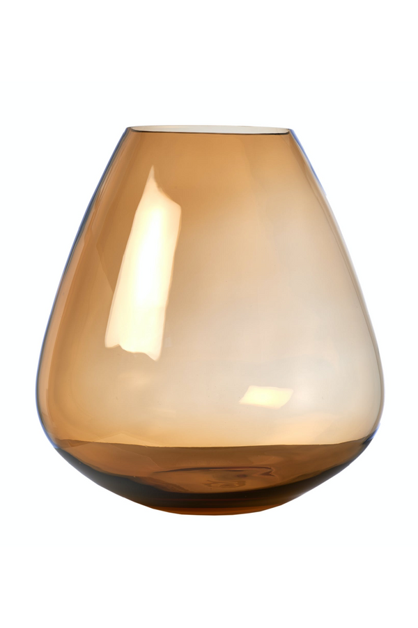 Beige Glass Vase | Pols Potten Wiskey | Dutchfurniture.com