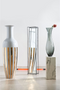 Gray Decorative Vase | Pols Potten Stretch | DutchFurniture.com