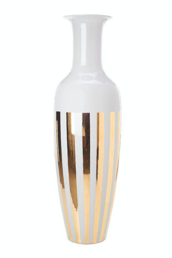 Porcelain Vase | Pols Potten Stripes | DutchFurniture.com