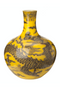 Handpainted Decorative Vase | Pols Potten Yellow Dragon | DutchFurniture.com