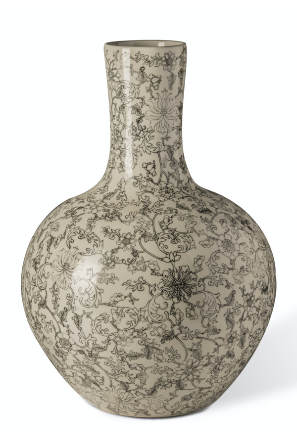Floral Decorative Vase | Pols Potten Flowers Sketch | DutchFurniture.com