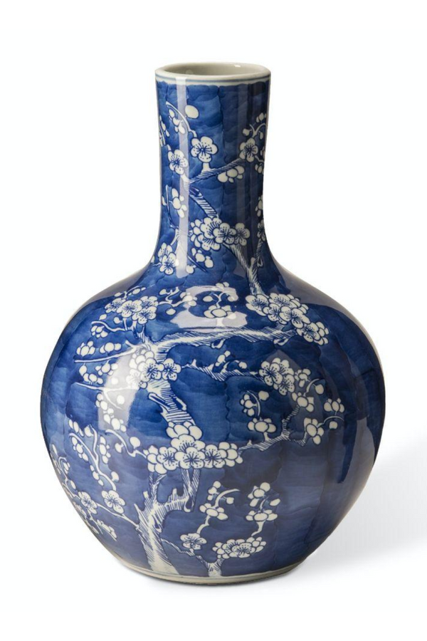 Blue Decorative Vase | Pols Potten Blossom L | DutchFurniture.com