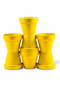 Yellow Pot Planter Set | Pols Potten Volcano VIII | DutchFurniture.com