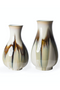 Glazed White Vase S | Pols Potten Perry | Dutchfurniture.com