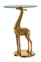 Gold Plated Side Table | Pols Potten Giraffe | DutchFurniture.com