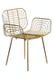 Gold Accent Chair | Pols Potten Boston | DutchFurniture.com