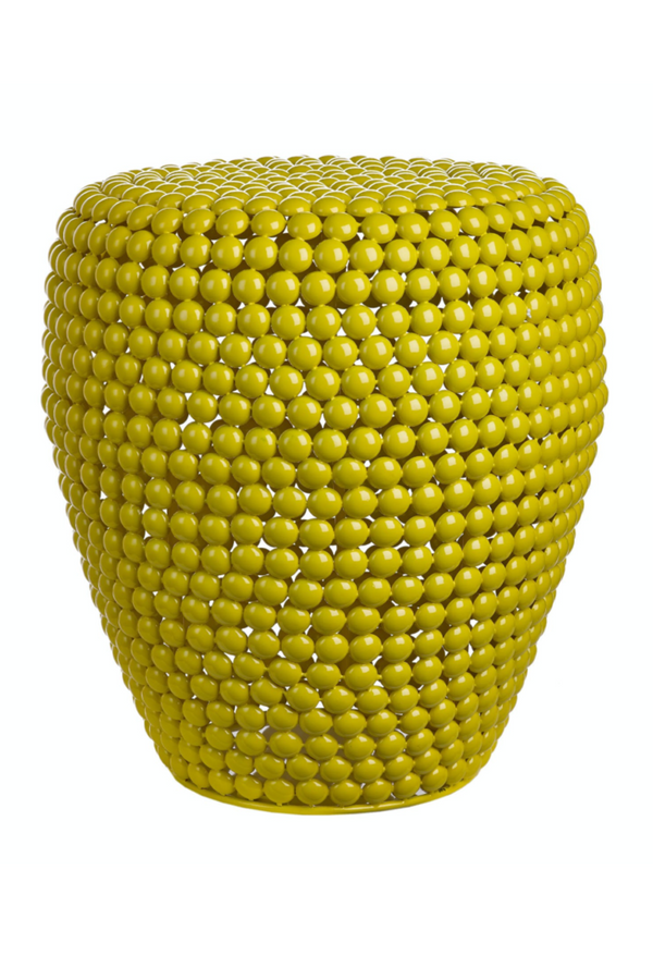 Yellow Accent Stool | Pols Potten Dot | DutchFurniture.com