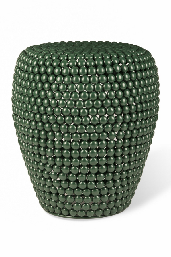 Green Accent Stool | Pols Potten Dot | DutchFurniture.com