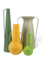 Green Decorative Vase Set | Pols Potten Roman | DutchFurniture.com
