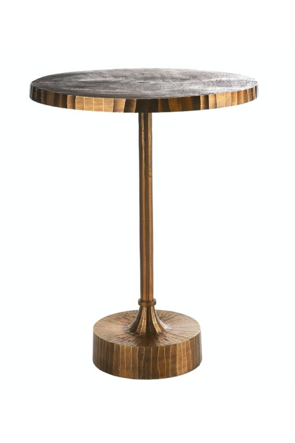Round Copper Side Table | Pols Potten Mace | DutchFurniture.com