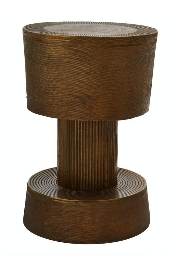 Antique Brass Stool | Pols Potten Bolt | DutchFurniture.com