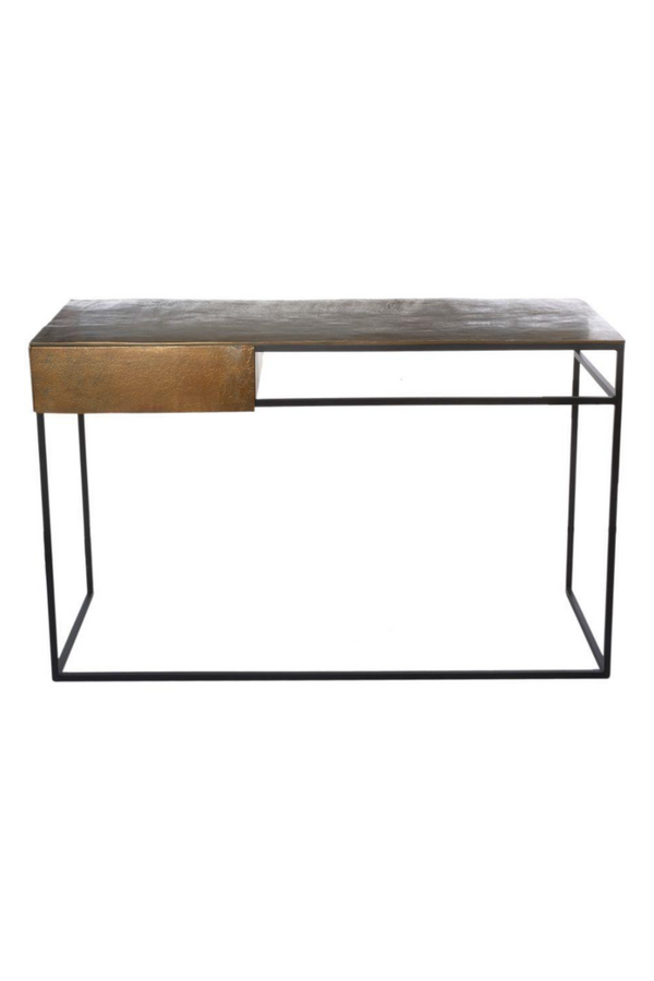 Antique Brass Home Desk | Pols Potten Frame | DutchFurniture.com