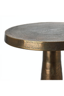 Round Antique Brass Side Table | Pols Potten Toot High | DutchFurniture.com