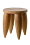 Hand Carved Wooden Stool | Pols Potten Senofo | DutchFurniture.com