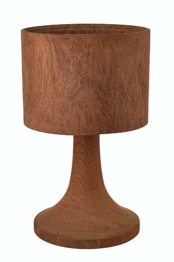 Solid Wood Table Lamp | Pols Potten Office Short | DutchFurniture.com