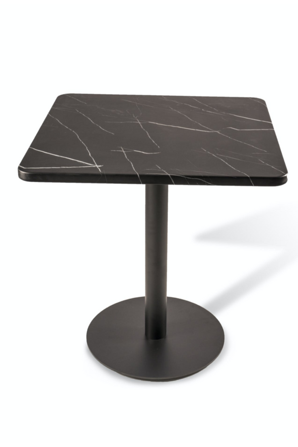 Black Marble Square Dining Table | Pols Potten | DutchFurniture.com